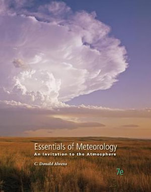 Cover of Essentials of Meteorology: An Invitation to the Atmosphere