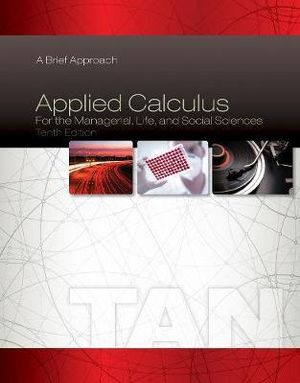 Cover of Applied Calculus for the Managerial, Life, and Social Sciences: A Brief Approach