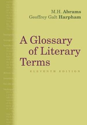 Cover of A Glossary of Literary Terms