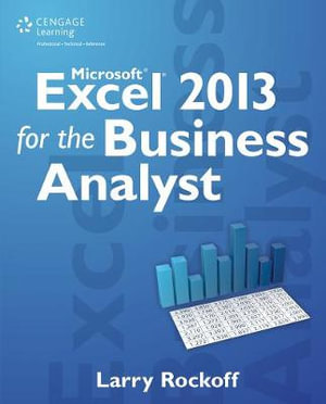 Cover of Microsoft Excel 2013 for the Business Analyst