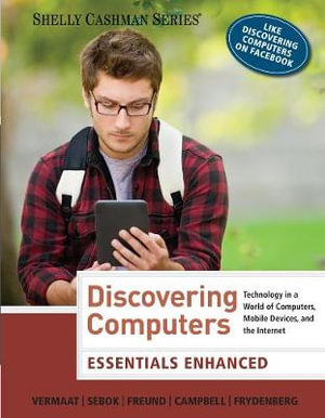 Cover of Enhanced Discovering Computers, Essentials