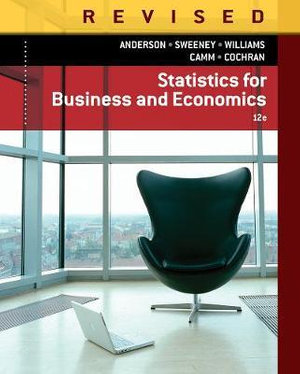 Cover of Statistics for Business & Economics, Revised