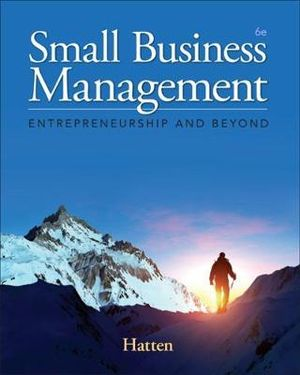 Cover of Small Business Management: Entrepreneurship and Beyond