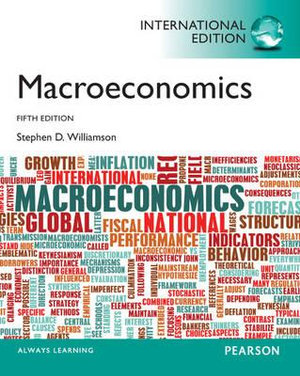 Cover of Macroeconomics Pearson International Edition Mechanical