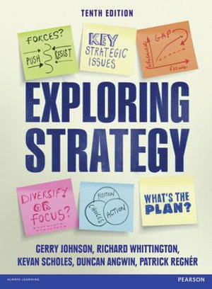 Cover of Exploring Strategy Text Only 10e