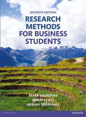 Cover of Research Methods for Business Students
