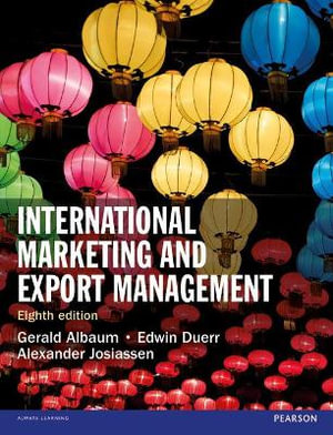 Cover of International Marketing and Export Management