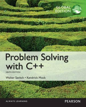 Cover of Problem Solving with C++