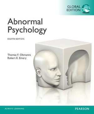 Cover of Abnormal Psychology, Global Edition