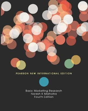 Cover of Basic Marketing Research Pearson New International Edition