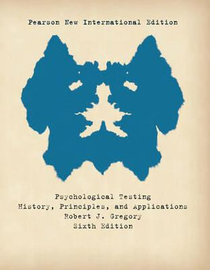 Cover of Psychological Testing: Pearson New International Edition