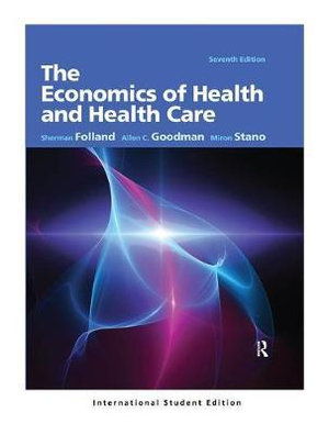 Cover of The Economics of Health and Health Care