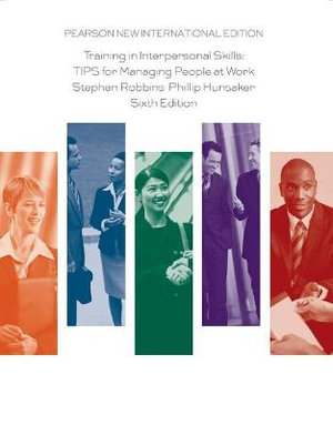 Cover of Training in Interpersonal Skills