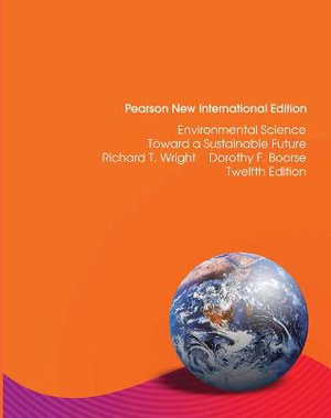 Cover of Environmental Science: Pearson New International Edition
