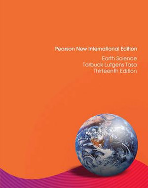 Cover of Earth Science Pearson New International Edition