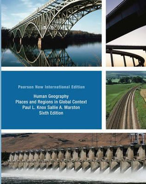 Cover of Human Geography: Pearson New International Edition