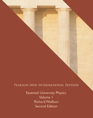 Cover of Essential University Physics: Pearson New International Edition