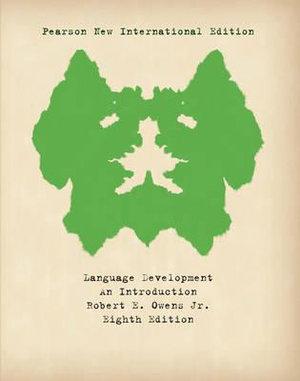 Cover of Language Development: Pearson New International Edition