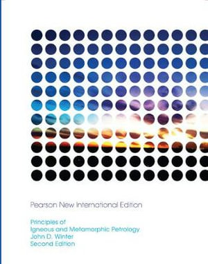 Cover of Principles of Igneous and Metamorphic Petrology
