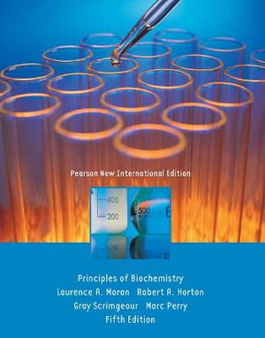 Cover of Principles of Biochemist Pearson New International Edition