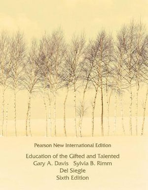 Cover of Education of the Gifted and Talented