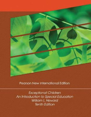 Cover of Exceptional Children: Pearson New International Edition