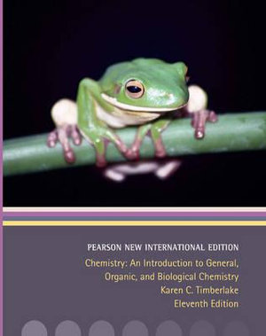 Cover of Chemistry: Pearson New International Edition