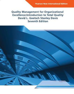 Cover of Quality Management for Organizational Excellence