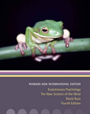 Cover of Evolutionary Psychology: Pearson New International Edition