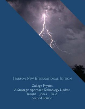 Cover of College Physics: Pearson New International Edition