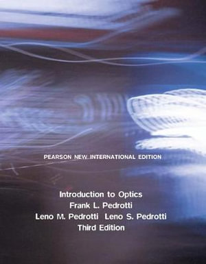 Cover of Introduction to Optics