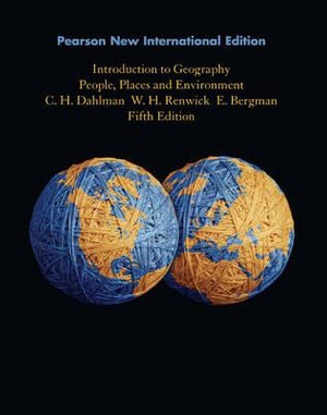 Cover of Introduction to Geography: Pearson New International Edition