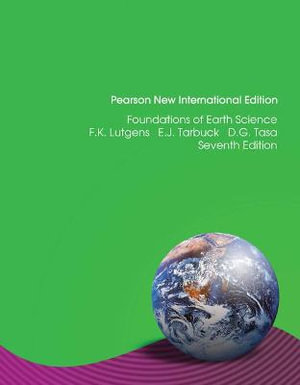 Cover of Foundations of Earth Science