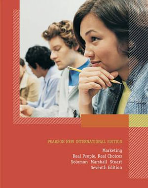 Cover of Marketing: Pearson New International Edition