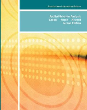 Cover of Applied Behavior Analysis