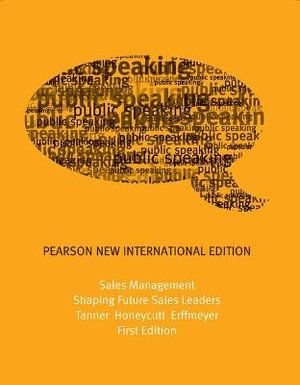 Cover of Sales Management