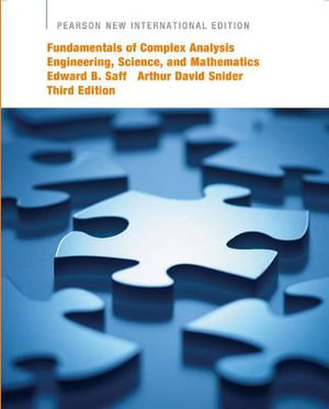 Cover of Fundamentals of Complex Analysis with Applications to Engineering, Science, and Mathematics