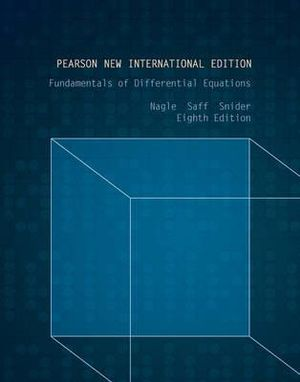 Cover of Fundamentals of Differential Equations