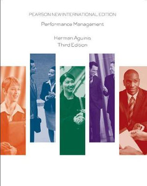 Cover of Performance Management Pearson New International Edition
