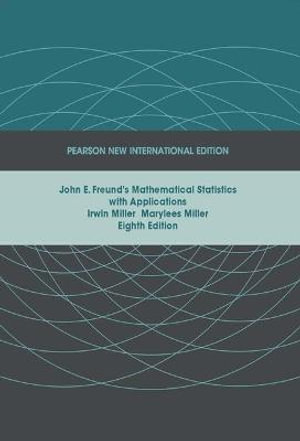 Cover of John E. Freund's Mathematical Statistics with Applications