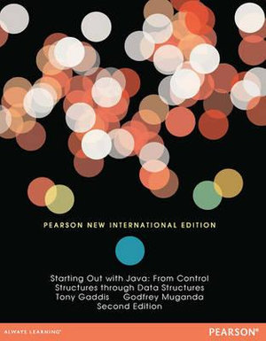 Cover of Starting Out with Java: Pearson New International Edition