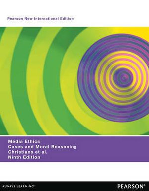 Cover of Media Ethics: Pearson New International Edition