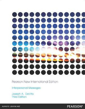 Cover of Interpersonal Messages