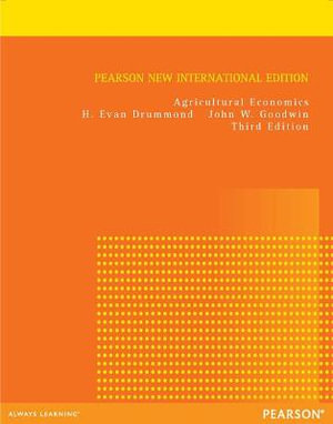 Cover of Agricultural Economics