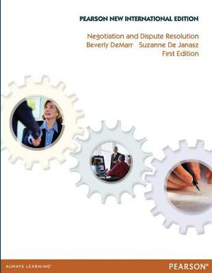 Cover of Negotiation and Dispute Resolution