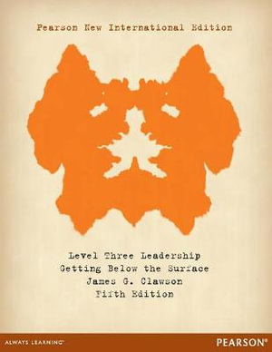 Cover of Level Three Leadership: Pearson New International Edition