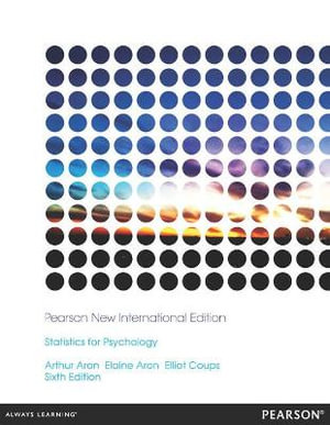 Cover of Statistics for Psychology
