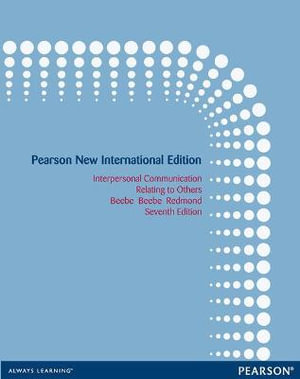 Cover of Interpersonal Communication: Pearson New International Edition