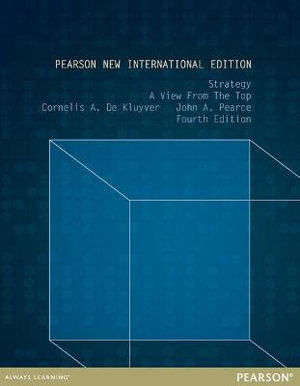 Cover of Strategy: Pearson New International Edition
