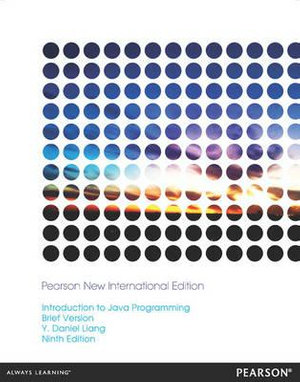 Cover of Introduction to Java Programming, Brief Version